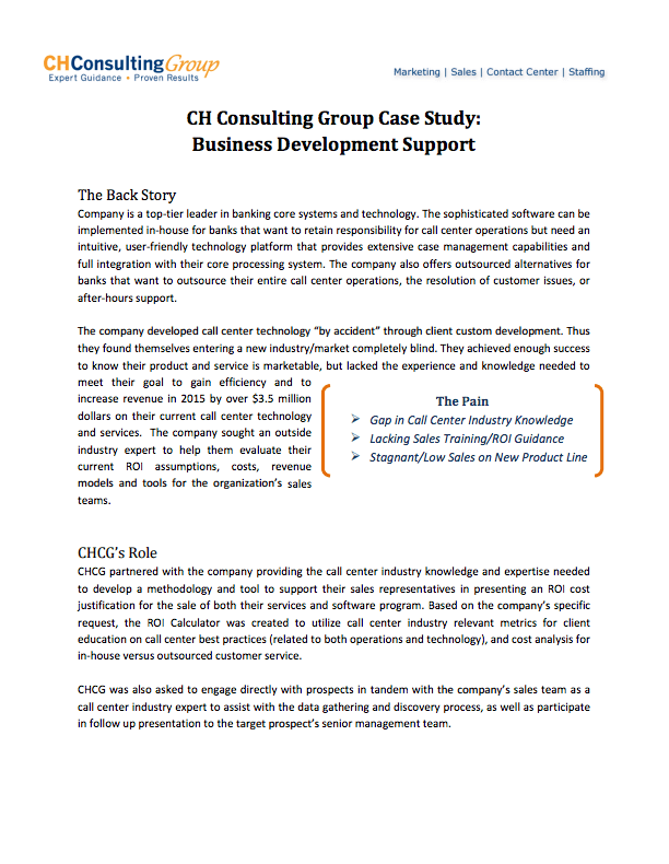 infosys consulting in 2006 case study