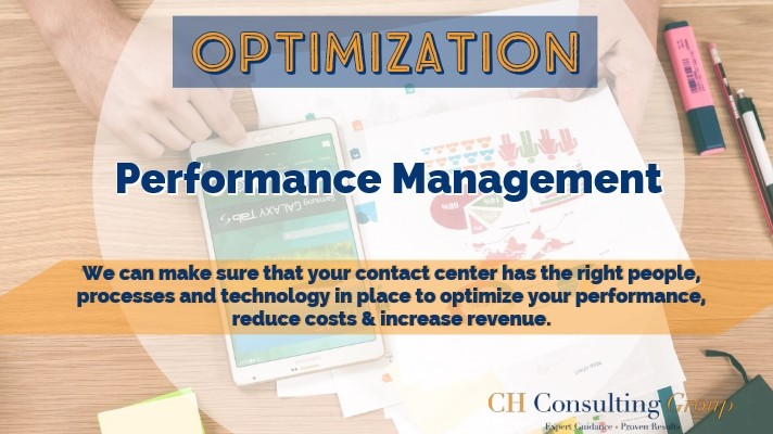 call center performance management optimization