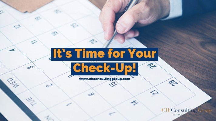 It's Time for Your Check-Up