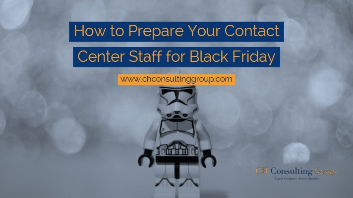 How to Prepare Your Contact Center Staff for Black Friday