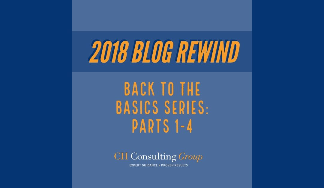 Blog Rewind: Back to the Basics Series