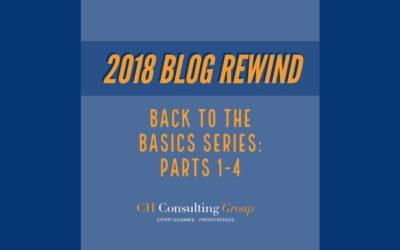Blog Rewind: Back to the Basics Series