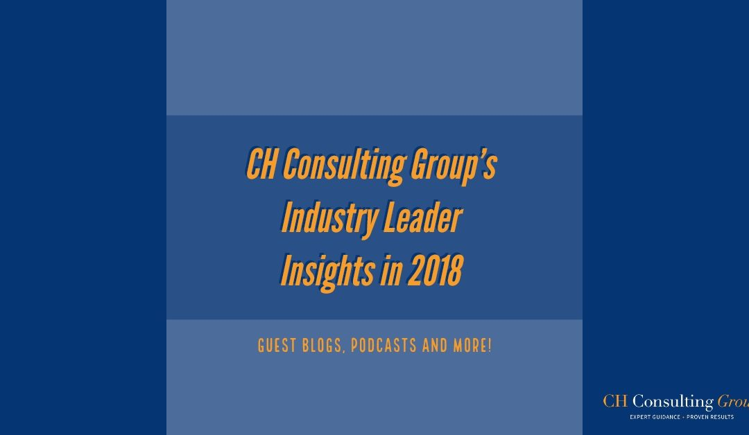 Blog Rewind: A Collection of Industry Leader Insights