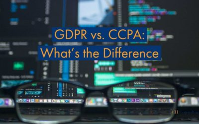 General Data Protection vs. California Consumer Privacy Act