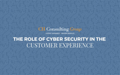 The Role of Cyber Security in the Customer Experience