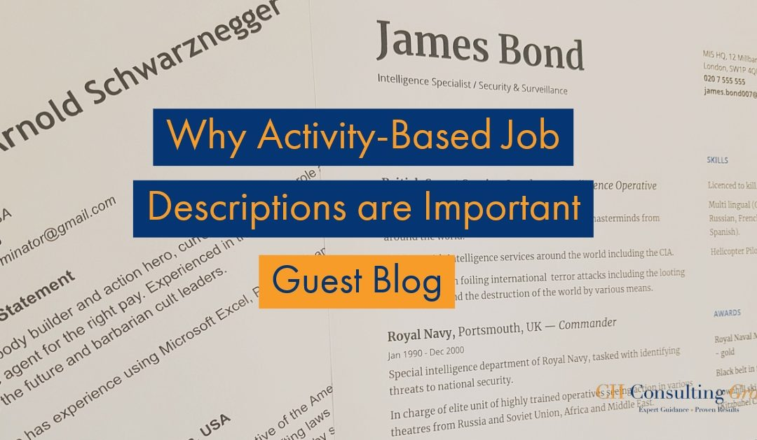 Why Activity-Based Job Descriptions are Important