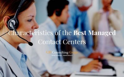 Characteristics of the Best Managed Contact Centers