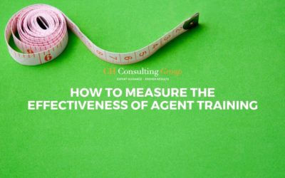 How to Measure the Effectiveness of Agent Training