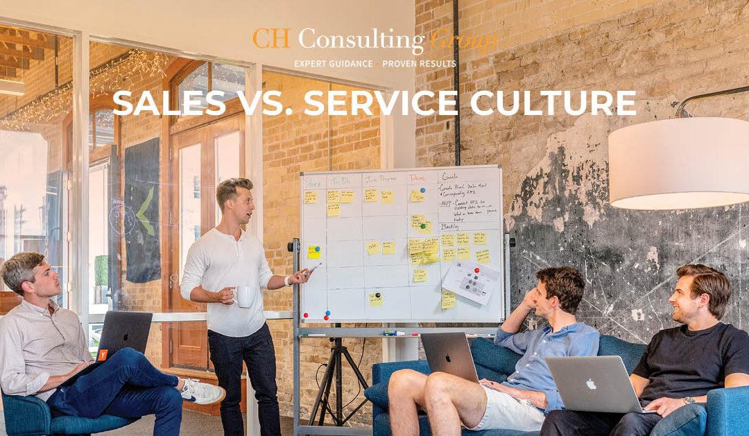 Sales versus Service Culture