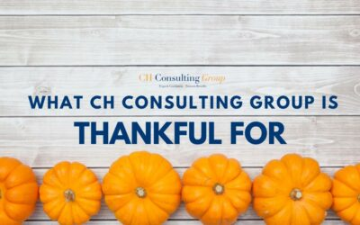 What CH Consulting Group is Thankful for