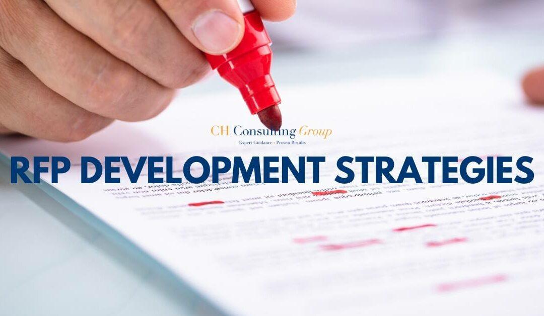 RFP Development and Management Strategies